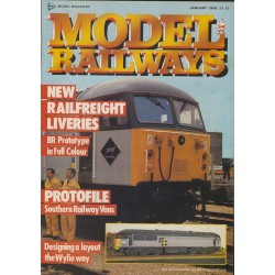 Model Railways 1988 January