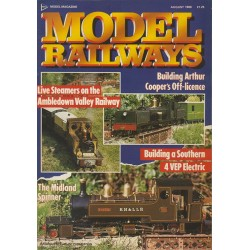 Model Railways 1988 August