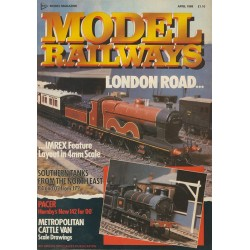 Model Railways 1988 April