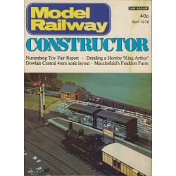 Model Railway Constructor 1978 April