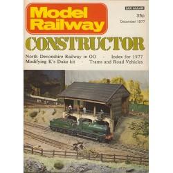 Model Railway Constructor 1977 December