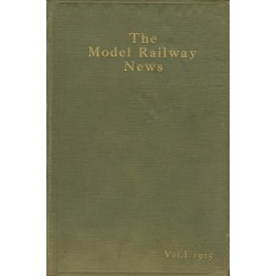 Model Railway News 1925 Bound Volume