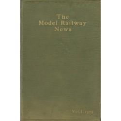 Model Railway News 1925 Bound Volume