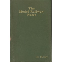 Model Railway News 1927 Bound Volume