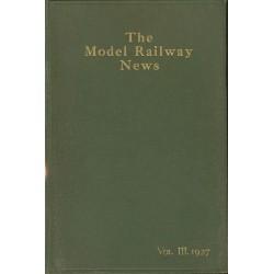 Model Railway News 1927 Bound Volume
