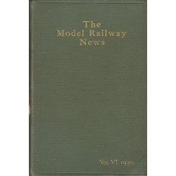 Model Railway News 1930 Bound Volume