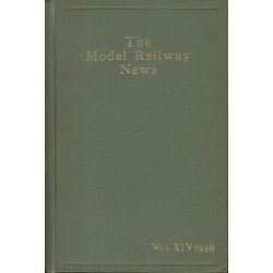 Model Railway News 1938 Bound Volume