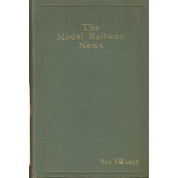 Model Railway News 1937 Bound Volume