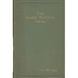 Model Railway News 1935 Bound Volume