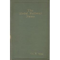 Model Railway News 1934 Bound Volume