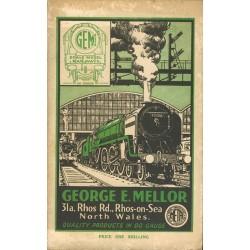 George E. Mellor catalogue 1953/54