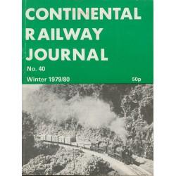 Continental Railway Journal Winter 79/80