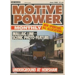 Motive Power Monthly 1986 June