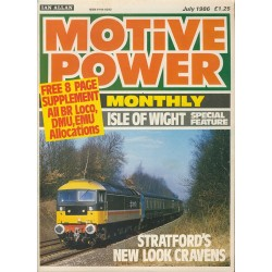 Motive Power Monthly 1986 July
