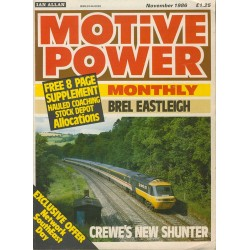 Motive Power Monthly 1986 November