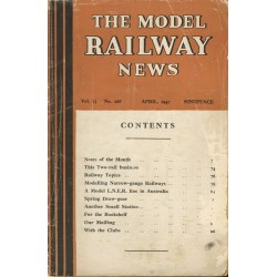 Model Railway News 1947 April