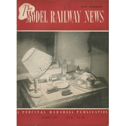 Model Railway News 1949 August