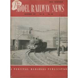 Model Railway News 1949 December