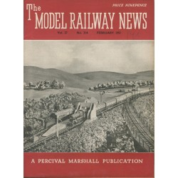 Model Railway News 1951 February