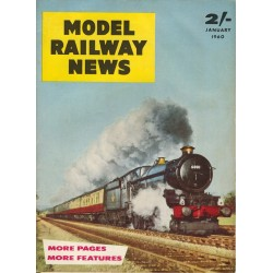 Model Railway News 1960 January