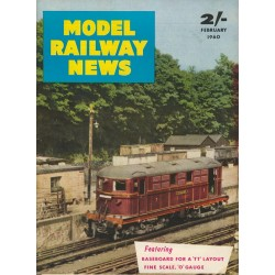 Model Railway News 1960 February
