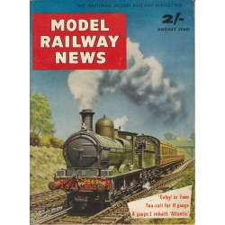 Model Railway News 1960 August