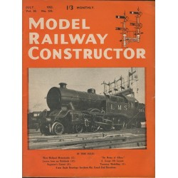 Model Railway Constructor 1953 July