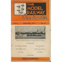 Model Railway Constructor 1941 February