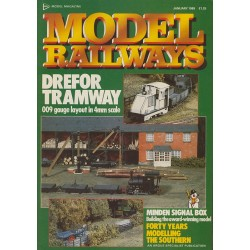Model Railways 1989 January