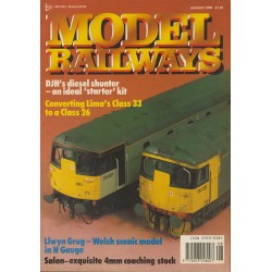 Model Railways 1989 August