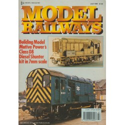 Model Railways 1989 July