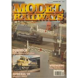 Model Railways 1990 December