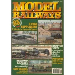 Model Railways 1990 January