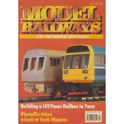 Model Railways 1990 July