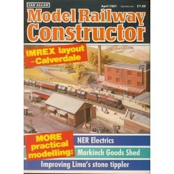 Model Railway Constructor 1987 April