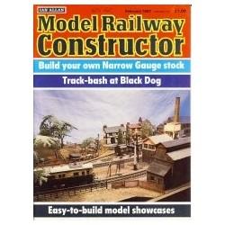 Model Railway Constructor 1987 February