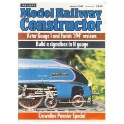 Model Railway Constructor 1987 January