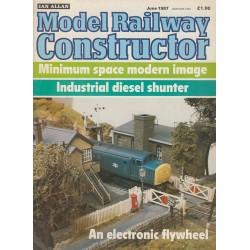 Model Railway Constructor 1987 June