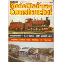 Model Railway Constructor 1987 May