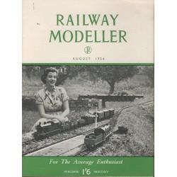 Railway Modeller 1954 August