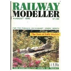 Railway Modeller 1990 August