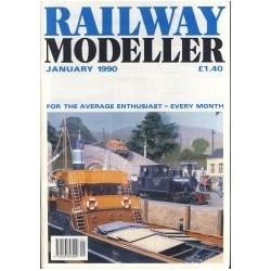 Railway Modeller 1990 January