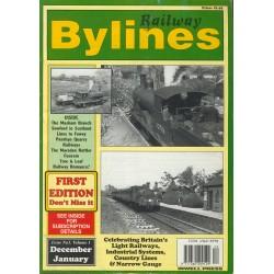 Railway Bylines 1995 December/ 1996 January