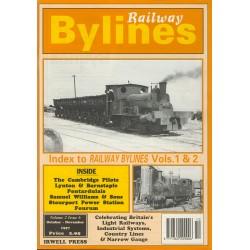 Railway Bylines 1997 October-November