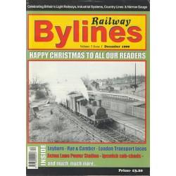 Railway Bylines 1999 December