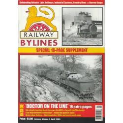 Railway Bylines 2003 April