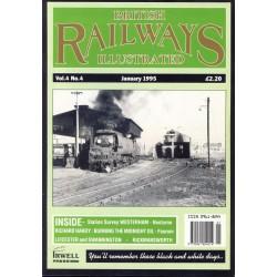 British Railways Illustrated 1995 January