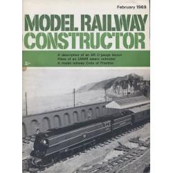 Model Railway Constructor 1969 February