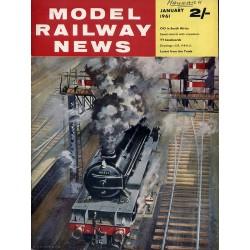 Model Railway News 1961 January