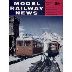 Model Railway News 1961 February